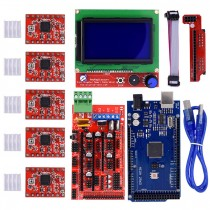3D Printer Kits MEGA 2560 + Ramps1.4 +  LCD12864 Display + A4988