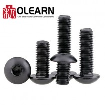 M3 Button Head Screws Available In Various Lengths
