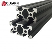 Olearn V-Slot 20x40 Linear Rail Black