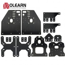 Aluminum Gantry Plates Ooznest OX CNC Aluminum Plates Kit For OX CNC Engraving Machine