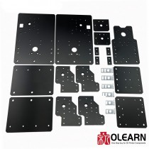 WorkBee CNC Aluminum Plates Lead Screw Driven and Belt Version