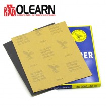 Olearn 3D Print Finish Waterproof Abrasive Paper 210mm x 297mm Sandpaper