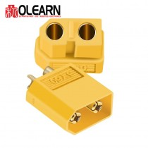 Olearn XT60 Male Female Connectors, 1 pair
