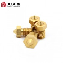 OLEARN Brass Nozzle For E3D Hotend 1.75mm/3.0mm