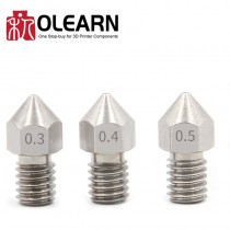 OLEARN MK8 Extruder Stainless Nozzle