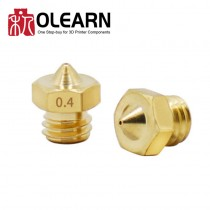 3D Printer Part Brass Nozzle For Two Color Print Extruder