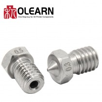 Stainless Steel Nozzle For E3D Hotend Extruder