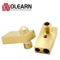 3D Printer Parts Ultimaker2 UM2 Heat Block Nozzle